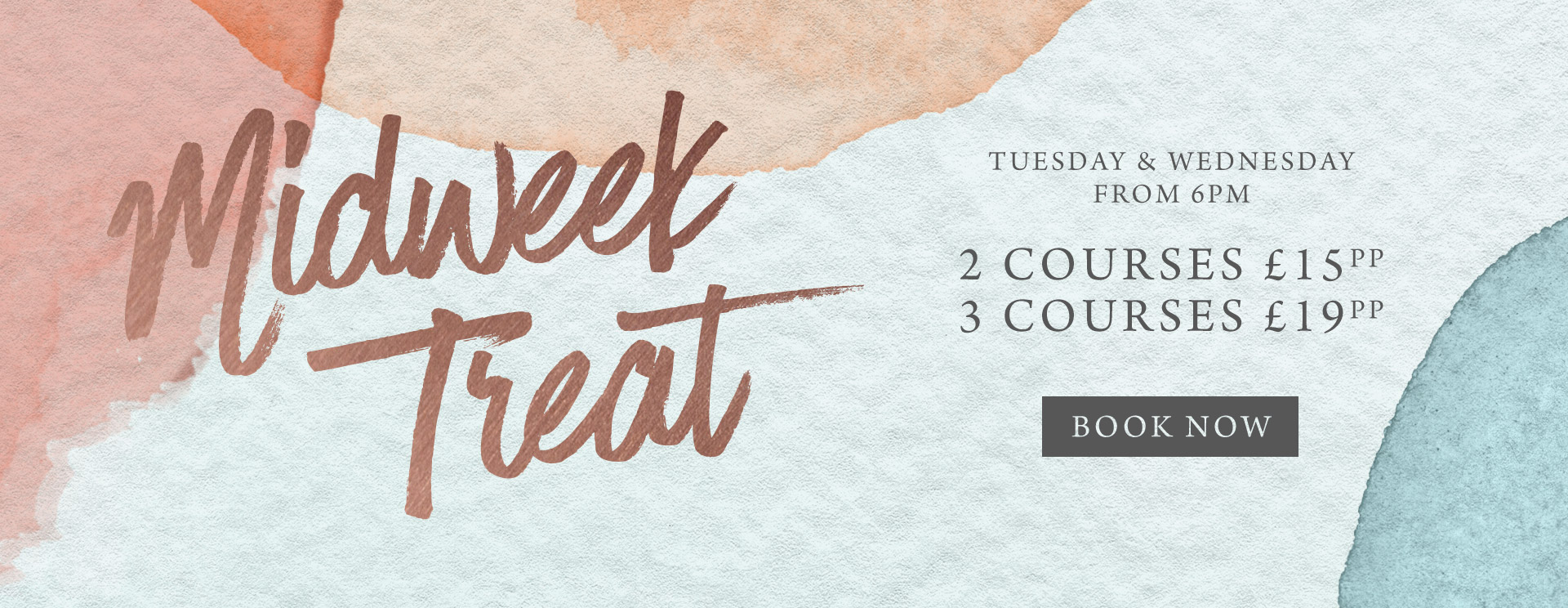 Midweek treat at The Rams Head - Book now
