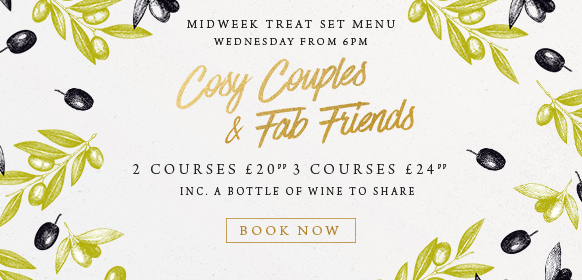 Midweek treat set menu at The Rams Head