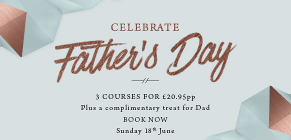 Father's Day at The Rams Head - Book now